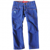 Oilily bequeme Hose Pablo Pants blue Canvas