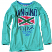 Vingino Boys LA-Shirt Jesse Green, Grün