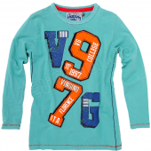 Vingino Boys LA-Shirt Jamiro Lagon Green Blau