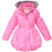 Ticket to Heaven Miley Jacke Coat Pink