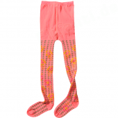 Cakewalk bequeme Strumpfhose Abby Muster Coral