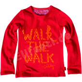 Oilily LA-Shirt Tip Walk the Walk Rot