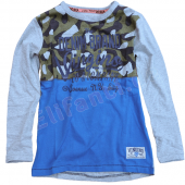 Vingino Boys warmes LA-Shirt Harrold Grau