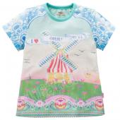 Oilily hübsches T-Shirt Windmühle Farbig
