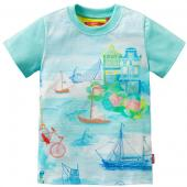 Oilily T-Shirt To toller Seeprint Blau
