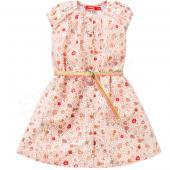 Oilily Kleid Dotje Dress Flower Weiß