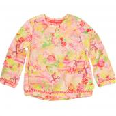 Oilily Blouse Bimbam Fabelwesen in Pink Gelb