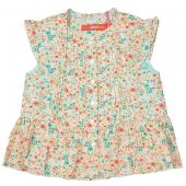 Oilily Blouse Bloem mini Flower Light Green