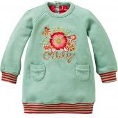 Oilily Kleid Hesje Sweat-Dress Flower Türkis