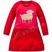 Oilily Kleid Heya Sweat-Dress Schaf Rot-Pink
