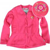 Oilily Hazel Sweat Cardigan Flower Pink