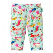 Oilily Leggings Tappy Vogel-Muster Blau