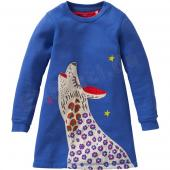 Oilily tolles Kleid Huppel Sweeat Dress Blau