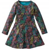 Oilily tolles Kleid True Sweeat Dress Braun