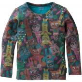 Oilily Tip tolles LA-Shirt Monster Braun