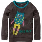 Oilily cooles Tod LA-Shirt Monster Braun