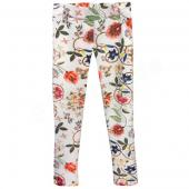 Jottum warme Leggings Dallas Flowerprint Beige