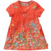 Oilily bequems Kleid Tripple dress Rot-Orange