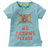 Oilily tolles T-Shirt Ti no pictures please Blau