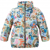 Oilily Coat Carmel Mantel forest blue Blau