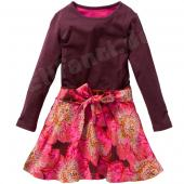 Oilily Dajale Dress Kleid Flower Print Braun