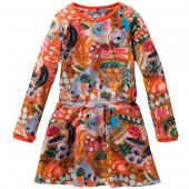 Oilily Toop Dress Kleid Flower Print Bunt