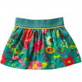 Oilily Tiptop Rock Skirt Big Flower Grün