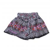 Cakewalk skirt Rock Blumenmuster in Grau
