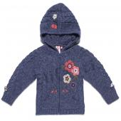 Cakewalk Girls Cardigan purple present Blau