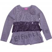 Pampolina bequemes Langarmshirt in Lila
