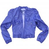 Carbone pre Spring 2012 blue leather jacket