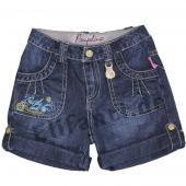 Pampolina Shorts dark blue denim