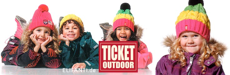 Ticket to Heaven winter style 2014 for kids